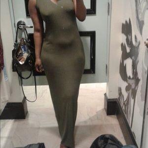 ISO maxi dress